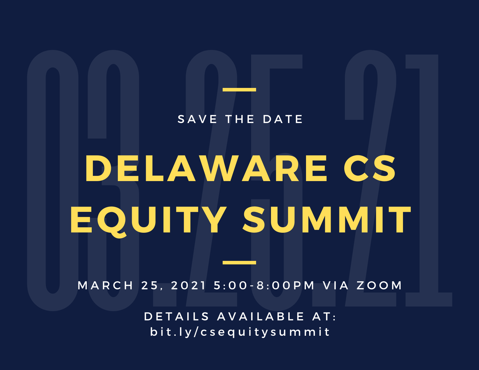 Kersch-Delaware CS Equity Summit Save The Date